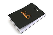 "Rhodia Pad No. 10 - 2"" x 2.9"" - Black - Graph - RHODIA 102009"