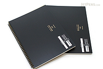 "Maruman Mnemosyne Imagination Notebook - A4 (8.3"" X 11.7"") - 5 mm X 5 mm Graph - 70 Sheets - Bundle of 2 - MARUMAN N180 BUNDLE"