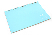 "Maruman Note de Note Notebook - B5 (6.9"" X 9.8"") - 7 mm Rule - 31 Lines X 30 Sheets - Blue - MARUMAN N266-02"