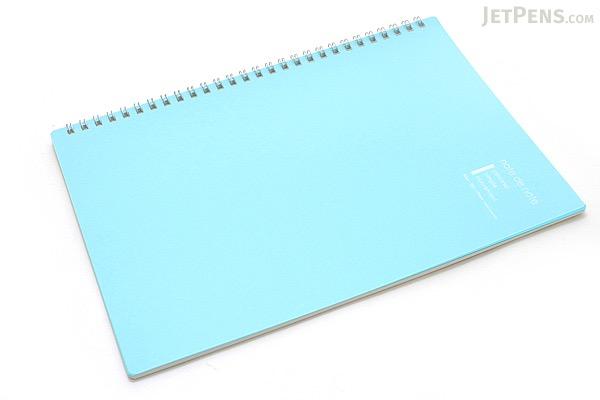 "Maruman Note de Note Notebook - B5 (6.9"" X 9.8"") - 7 mm Rule - 31 Lines X 30 Sheets - Blue - MARUMAN N266-02"