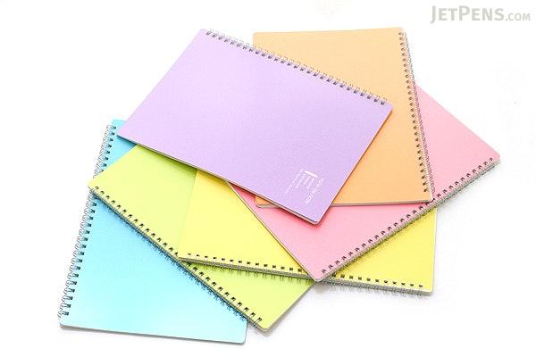 """Maruman Note de Note Notebook - B5 (6.9"""" X 9.8"""") - 7 mm Rule - 31 Lines X 30 Sheets - Orange - Pack of 10 - MARUMAN N266-09 BUNDLE"""