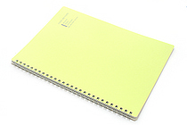 "Maruman Note de Note Notebook - B5 (6.9"" X 9.8"") - 7 mm Rule - 31 Lines X 30 Sheets - Green - MARUMAN N266-03"