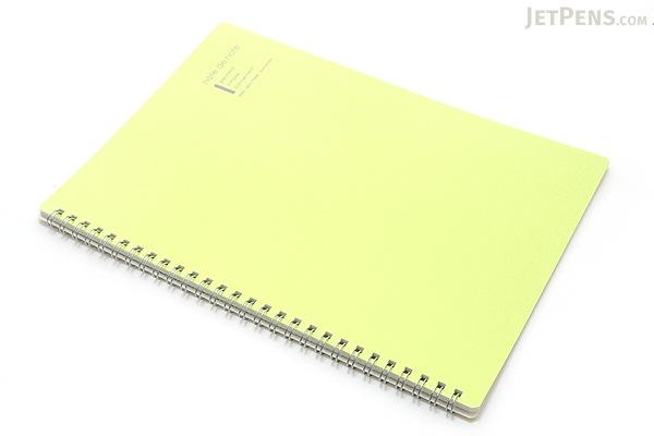 "Maruman Note de Note Notebook - B5 (6.9"" X 9.8"") - 7 mm Rule - 31 Lines X 30 Sheets - Green - MARUMAN N266-03"