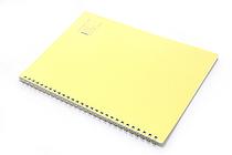 """Maruman Note de Note Notebook - B5 (6.9"""" X 9.8"""") - 7 mm Rule - 31 Lines X 30 Sheets - Yellow - MARUMAN N266-04"""