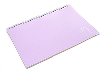 "Maruman Note de Note Notebook - B5 (6.9"" X 9.8"") - 7 mm Rule - 31 Lines X 30 Sheets - Purple - MARUMAN N266-10"