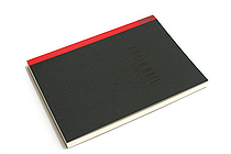 "Maruman Cover Note Refillable Notebook Refill - B6 (4.9"" X 6.9"") - 7 mm Rule - 21 Lines X 96 Sheets - MARUMAN N1432"