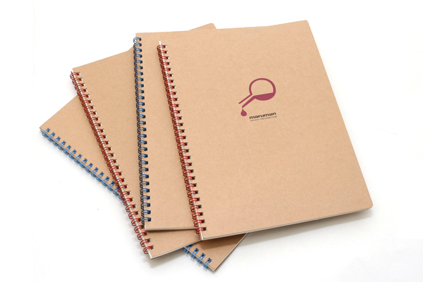 "Maruman Token Composition Book - B5 (6.9"" X 9.8"") - 7 mm Rule + Divisions - 31 Lines X 40 Sheets - Division Symbol - MARUMAN N806-02"