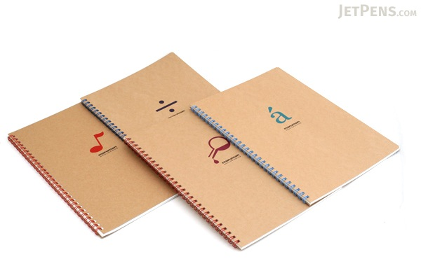 "Maruman Token Composition Book - B5 (6.9"" X 9.8"") - 7 mm Rule + Divisions - 31 Lines X 40 Sheets - Division Symbol - MARUMAN N806-02"