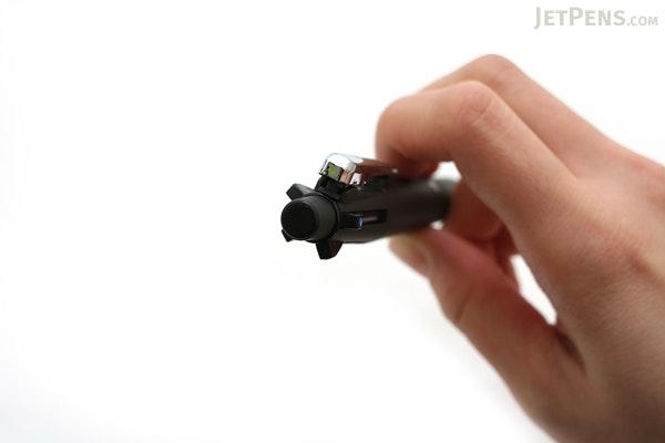 Zebra Clip-On Multi 2000 4 Color 0.7 mm Ballpoint Multi Pen + 0.5 mm Pencil - Black Body  - ZEBRA B4SA4-BK