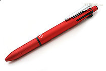 Zebra Clip-On Multi 2000 4 Color 0.7 mm Ballpoint Multi Pen + 0.5 mm Pencil - Red Body  - ZEBRA B4SA4-R