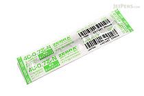 Zebra 4C-0.7 Ballpoint Pen Refill - D1 - 0.7 mm - Fluorescent Light Green - ZEBRA BR-8A-4C-N-KLG