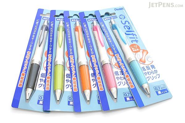 Pentel Selfit Ballpoint Pen - 0.7 mm - Pink Grip - PENTEL XBR607P