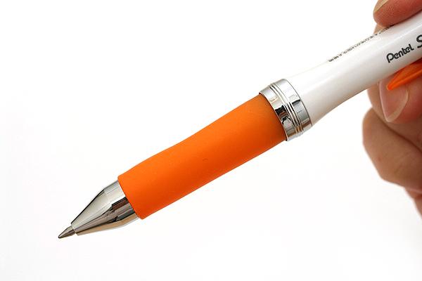 Pentel Selfit Ballpoint Pen - 0.7 mm - Orange Grip - PENTEL XBR607F