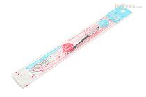 Pentel Sliccies Gel Multi Pen Refill - 0.3 mm - Milk Blue - PENTEL XBGRN3S2