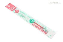 Pentel Sliccies Gel Multi Pen Refill - 0.4 mm - Coral Pink - PENTEL XBGRN4P3