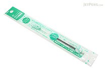 Pentel Sliccies Gel Multi Pen Refill - 0.4 mm - Green - PENTEL XBGRN4D