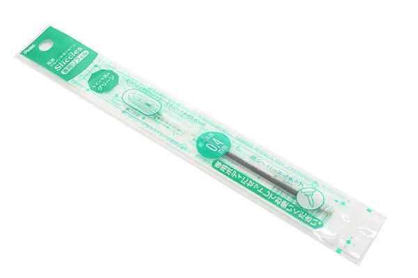 Pentel Sliccies Gel Multi Pen Refill - 0.4 mm - Green - PENTEL XBGRN4D