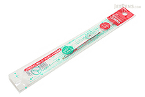 Pentel Sliccies Gel Multi Pen Refill - 0.4 mm - Red - PENTEL XBGRN4B