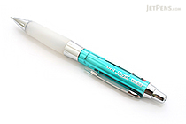 Uni Alpha Gel HD Shaka Shaker Mechanical Pencil - 0.5 mm - Chrome Green Body - White Grip - UNI M5618GG1PC.6