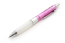 Uni Alpha Gel HD Shaka Shaker Mechanical Pencil - 0.5 mm - Chrome Pink Body - White Grip - UNI M5618GG1PC.13