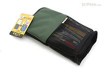 Kokuyo Campus Critz Pencil Case - Green - KOKUYO KESU-5090G