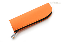 Kokuyo Will Stationery Actic Pencil Case - Orange - KOKUYO F-WBF115YR