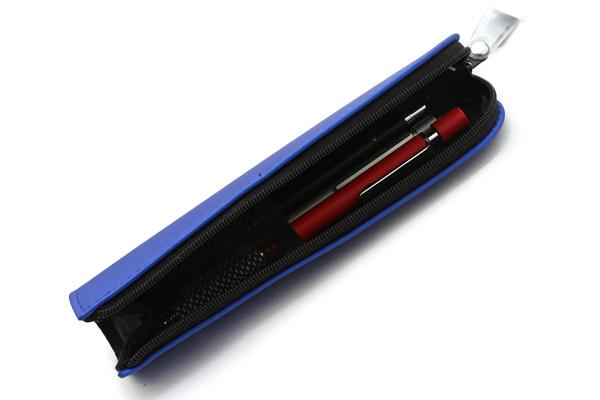 Kokuyo Will Stationery Actic Mini Pencil Case - Blue - KOKUYO F-WBF116B