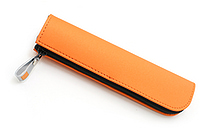 Kokuyo Will Stationery Actic Mini Pencil Case - Orange - KOKUYO F-WBF116YR