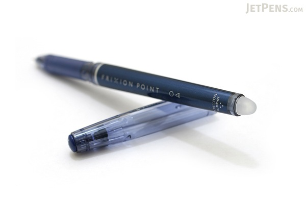 Pilot FriXion Point 04 Gel Pen - 0.4 mm - Blue Black - PILOT LF-22P4-BB