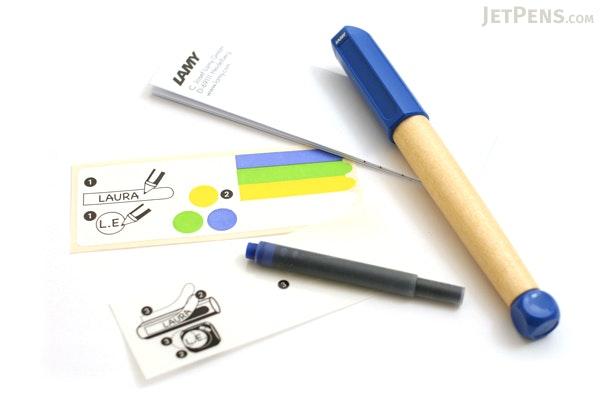 Lamy ABC Fountain Pen - Blue Grip - LAMY L09M