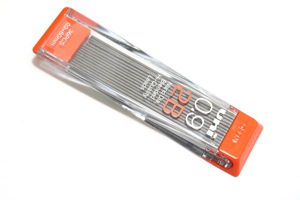 Uni NanoDia Low-Wear Pencil Lead - 0.9 mm - 2B - UNI U09202ND2B