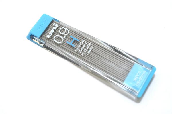 Uni NanoDia Low-Wear Pencil Lead - 0.9 mm - H - UNI U09202NDH