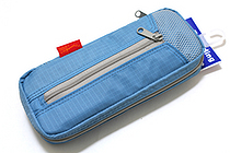 Nomadic PE-06 Side Zipper Pencil Case - Light Blue - NOMADIC EPE 06 L. BLUE