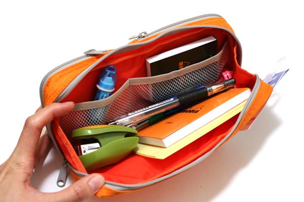 Nomadic PE-08 Easy Classification Pencil Case - Yellow - NOMADIC EPE 08 YELLOW