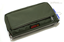 Nomadic PE-09 Flap Type Pencil Case - Khaki Green - NOMADIC EPE 09 KHAKI
