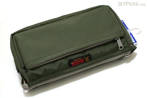 Nomadic PE-09 Flap Type Pencil Case - Khaki Green - NOMADIC EPE 09 KHAKI