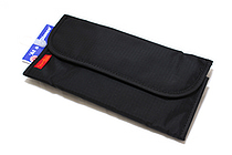 Nomadic PE-10 Tri-Fold Pencil Case - Black - NOMADIC EPE 10 BLACK