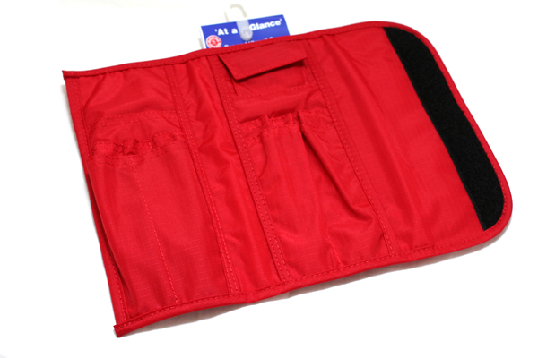 Nomadic PE-10 Tri-Fold Pencil Case - Red - NOMADIC EPE 10 RED