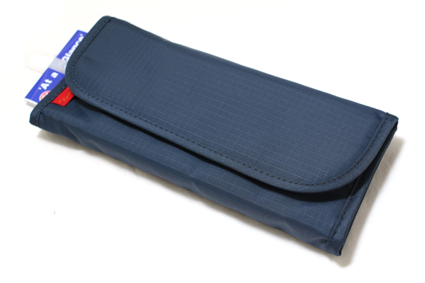 Nomadic PE-10 Tri-Fold Pencil Case - Navy - NOMADIC EPE 10 NAVY