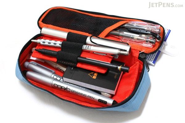 Nomadic PN-01 Two Layer Pencil Case - Light Blue - NOMADIC EPN 01 L. BLUE