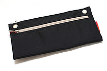 Nomadic PN-04 Snap Button Pencil Case - Black - NOMADIC EPN 04 BLACK