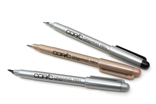 Copic Comic Drawing Pen with Waterproof Ink - 0.1 mm - Sepia - COPIC F01SDP