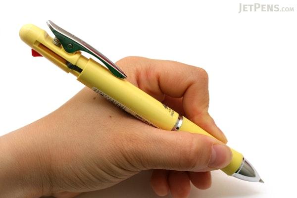 Pilot Fure Fure BeatNic 2 Color 0.7 mm Ballpoint Multi Pen + 0.5 mm Pencil - Yellow Body - PILOT BKHB-1SR-Y
