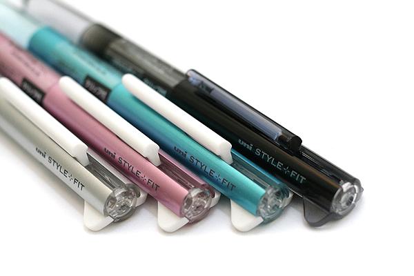 Uni Style Fit 3 Color Multi Pen Body Component - Silver - UNI UE3H208.26