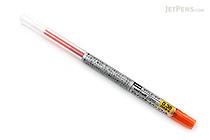 Uni Style Fit Gel Multi Pen Refill - 0.38 mm - Mandarin Orange - UNI UMR10938.38