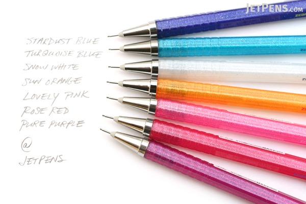 Zebra Color Flight C Sparkling Mechanical Pencil - 0.5 mm - Pure Purple - ZEBRA MA53-PPU