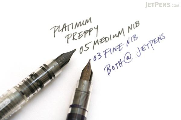 Platinum Preppy Fountain Pen Eco - 05 Medium Nib - Green - PLATINUM PPQ-200 41 05O