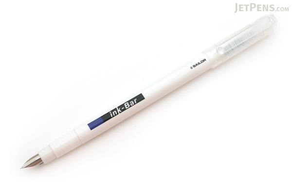 Sailor Ink Bar Disposable Fountain Pen - Fine Nib - Blue Black - SAILOR 26-5181-244