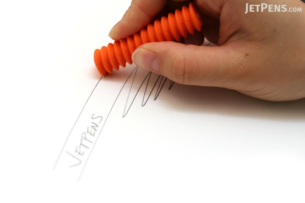 Metaphys Viss Spiral Eraser - Orange - METAPHYS 44050-OR