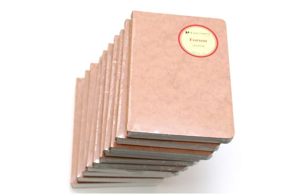 Exacompta Forum Plain Journal - 200 Sheets - Blank - Bundle of 10 - EXACOMPTA 1400 BUNDLE
